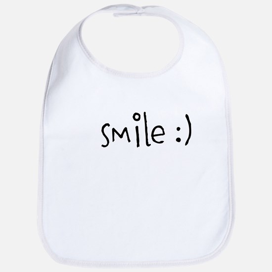 BE POSITIVE. BE KIND. SMILE. Bib