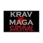 Krav Maga 20x12 Wall Decal