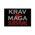 Krav Maga Rectangle Magnet (100 pack)