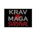 Krav Maga Rectangle Magnet (10 pack)