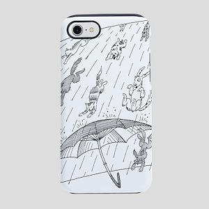 Raining cats & dogs iPhone 7 Tough Case