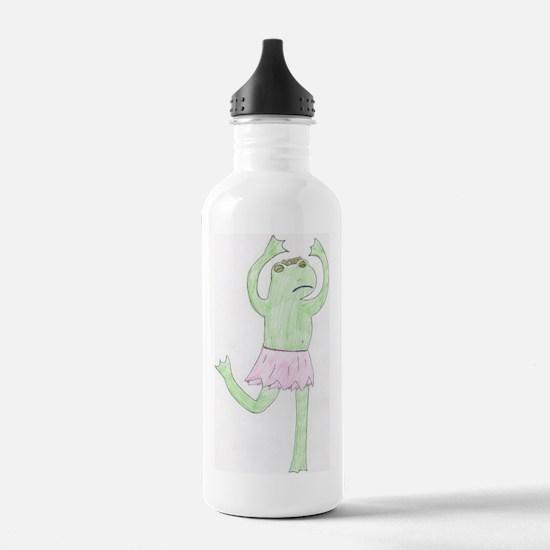 Unique Ballet frog Water Bottle