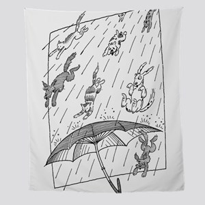Raining Cats & Dogs Wall Tapestry