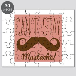 Cant Stay Mustache Puzzle