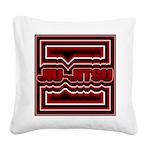 Jiu Jitsu Square Canvas Pillow