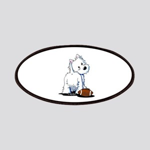 Tailgating Westie Patches
