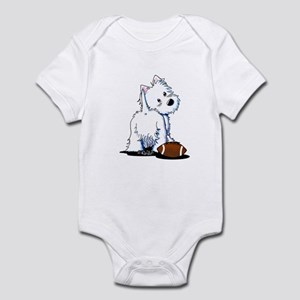 Tailgating Westie Infant Bodysuit