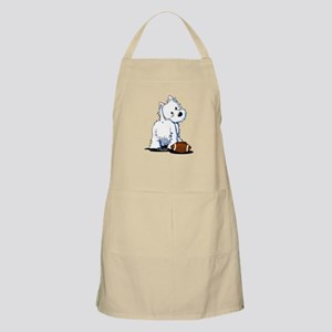 Tailgating Westie Apron