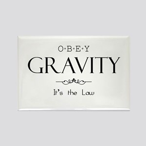 Obey Gravity Rectangle Magnet