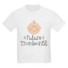 Future Trombonist Kids Light T-Shirt