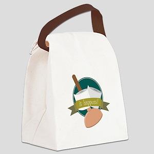 It Happens! Canvas Lunch Bag