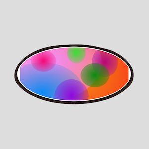 Colorful Ellipses Patches