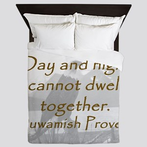 Day And Night Queen Duvet