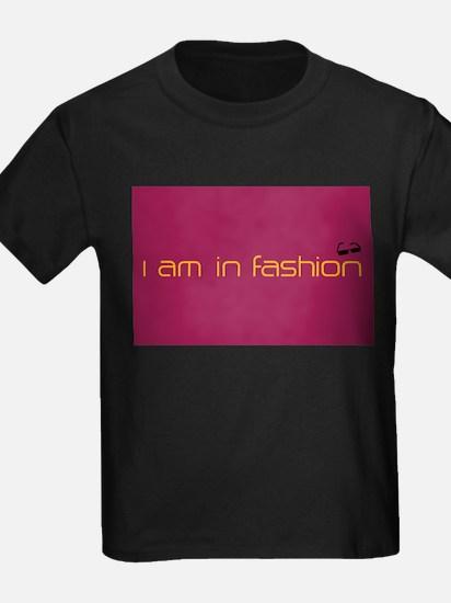 Cool Pink Rose Black Sunglasses Fashion T-Shirt