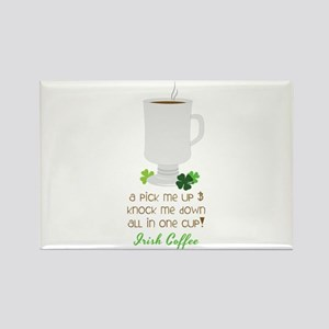 Irish Coffee In A Cup Magnets