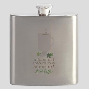 Irish Coffee In A Cup Flask