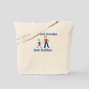 Roberto & Grandpa - Best Budd Tote Bag