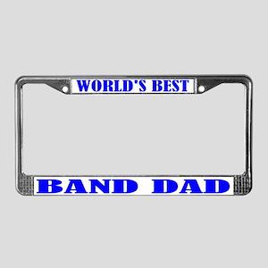 Band Dad License Plate Frame