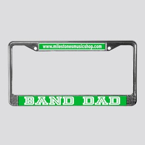 Marching Band Dad License Plate Frame