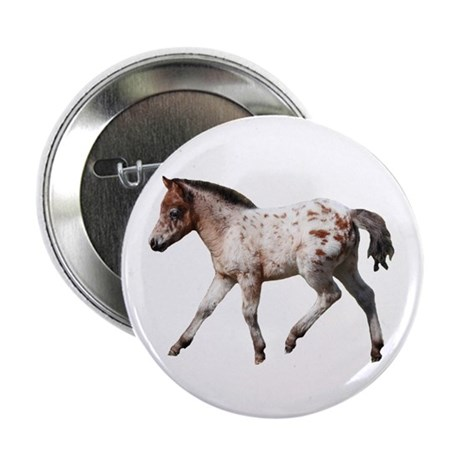 """Knabstrup foal 2"" 2.25"" Button (100 pack)"
