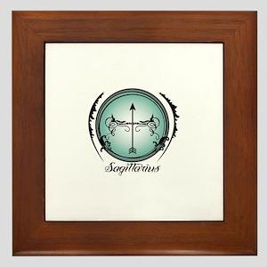 Sagittarius Framed Tile