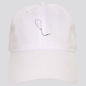 Abstract Light Bulb Baseball Cap