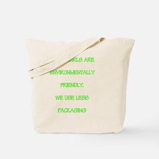 Short girls environmentally friendly Tote Bag