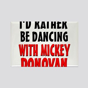 Dancing with Mickey Rectangle Magnet