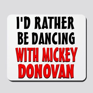 Dancing with Mickey Mousepad