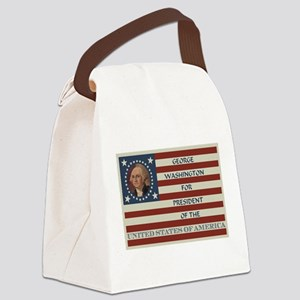 Vote for President Canvas Lunch Bag
