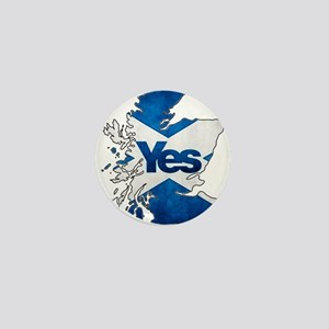 Yes for Scotland Mini Button