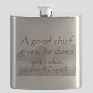 A Good Chief Flask