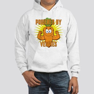 Powered by Veggies Hooded Sweatshirt
