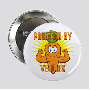 "Powered by Veggies 2.25"" Button"