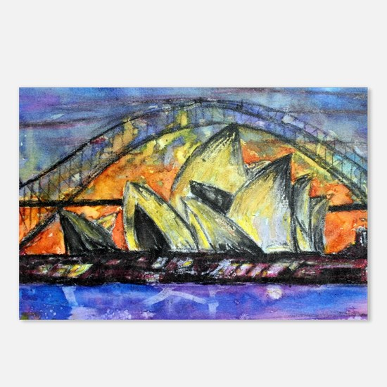 Hot Sydney Night Postcards (Package of 8)