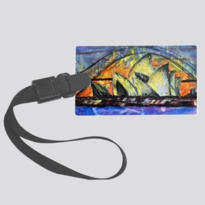 Hot Sydney Night Large Luggage Tag