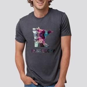 Mosaic Map MINNESOTA T-Shirt