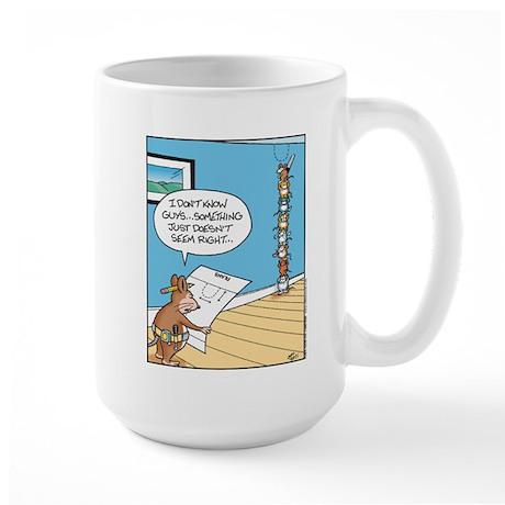 Mouse Plans Large Mug