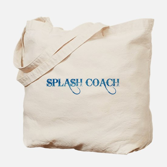 Splash Coach revised Tote Bag