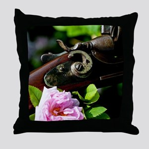 Garden Shotgun Throw Pillow