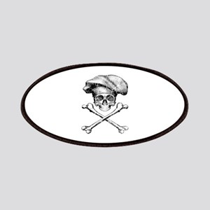 Chef Skull and Crossbones Patches