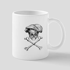 Chef Skull and Crossbones Mugs