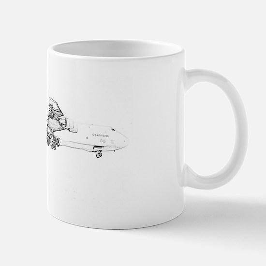 Lockheed C-5B Galaxy Mug
