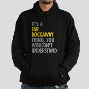 Far Rockaway Queens NY Thing Hoodie (dark)