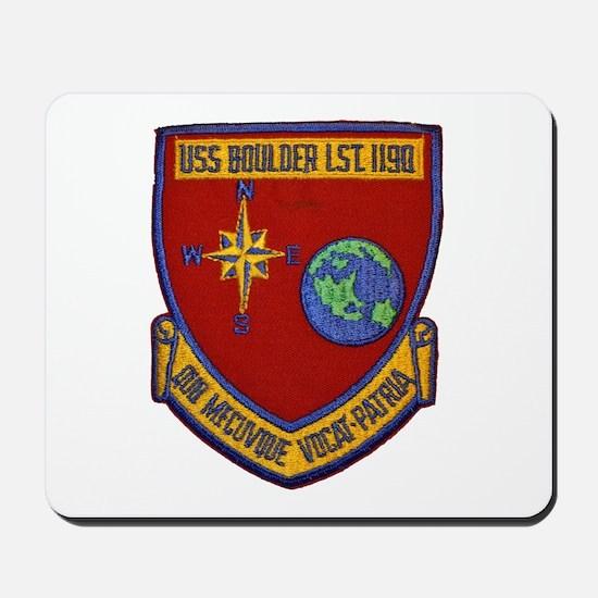 USS BOULDER Mousepad
