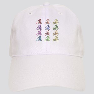 Rainbow Cyclists Cap