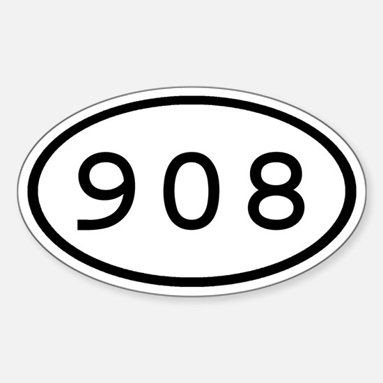 908 Oval Oval Decal