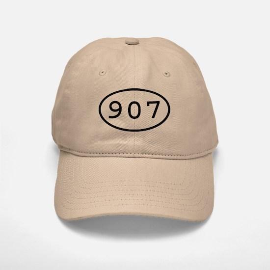 907 Oval Baseball Baseball Cap