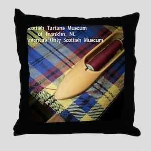 Scottish Tartans Museum Throw Pillow