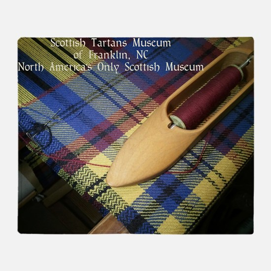 Scottish Tartans Museum Throw Blanket